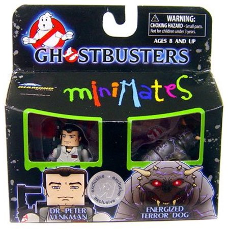 Ghostbusters Exclusive Minimates Mini Figure 2Pack Dr. Peter Venkman Energized Terror Dog](Ghostbusters Dog)