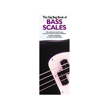 Music Sales Gig Bag Book of Bass - Gig Bass Double Bass