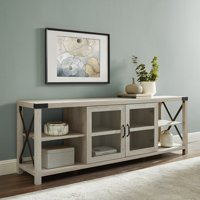 """Manor Park Farmhouse TV Stand For TV's Up to 78""""- Multiple Finishes"""