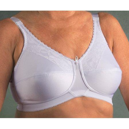 6699b4b6d9a5f Nearly Me - Nearly Me 600 Lace Bandeau Mastectomy Bra - Walmart.com