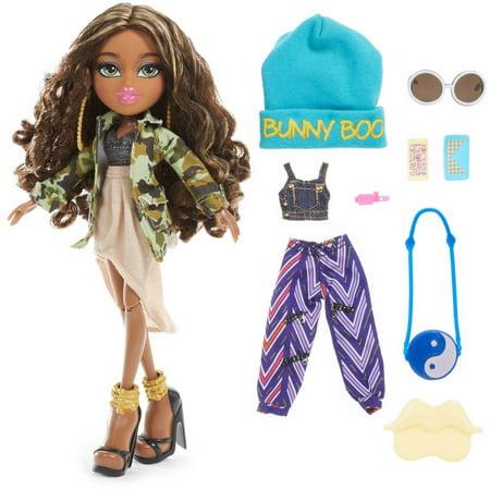 Bratz music festival vibes doll hip hop sasha Bratz fashion look and style doll