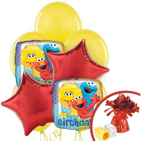 Sesame Street Party Balloon Bouquet](Balloons Online)