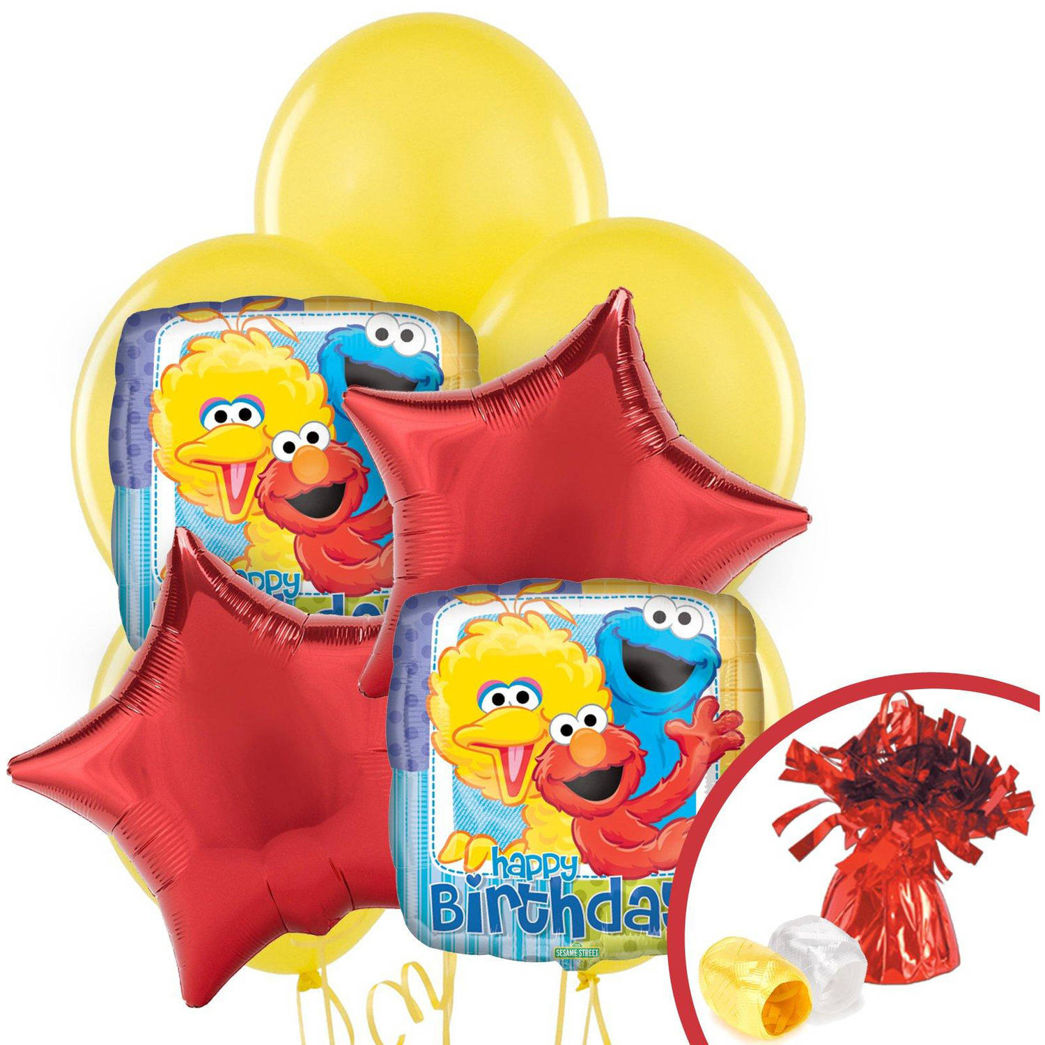 Sesame Street Party Balloon Bouquet