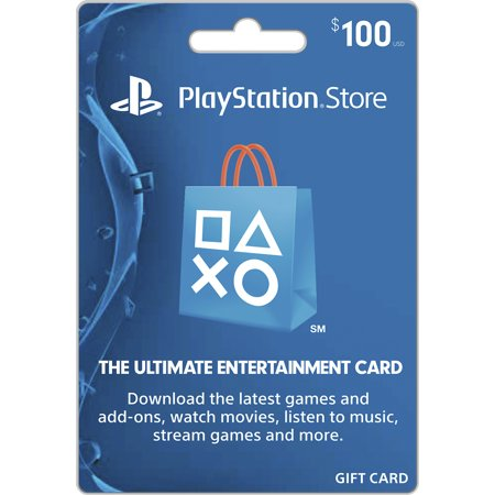 Sony $100.00 PlayStation 4 Physical Gift Card