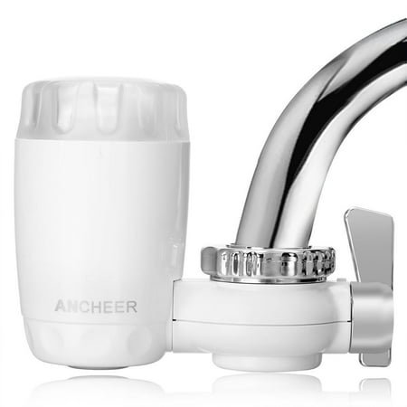 Home Kitchen Supplies Tap Faucet Ceramic Water Purifier Filter System White