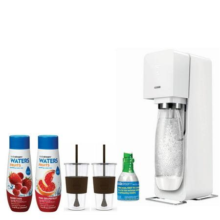 Sodastream Source Home Soda Maker Starter Kit White With