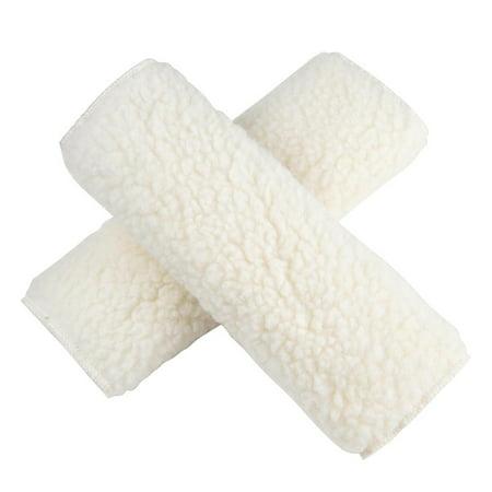 Plush Seat Belt Pads Cover (Yescom 2pcs Car Safety Seat Belt Cover Cushion 9