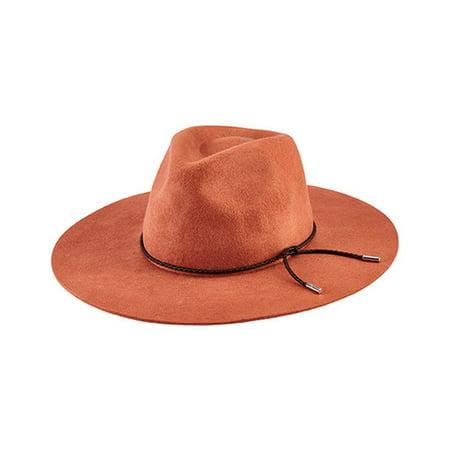 Women's San Diego Hat Company Floppy Fedora with Braided Trim - Wallaroo Hat Company
