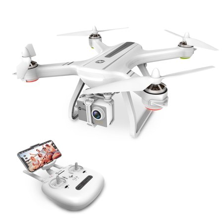 Holy Stone HS700 GPS Drone with 1080p HD Camera Live Video Brushless Motor GPS Return Home RC Quadcopter for Adults Beginners Follow Me,5G WiFi Transmission, Fit with GoPro,Color (Best Cheap Quadcopter With Hd Camera)