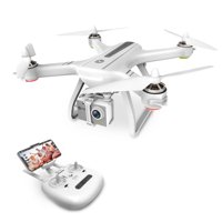 Holy Stone HS700 GPS Drone with 1080p HD Camera Live Video Brushless Motor GPS Return Home RC Quadcopter for Adults Beginners Follow Me,5G WiFi Transmission, Fit with GoPro,Color White