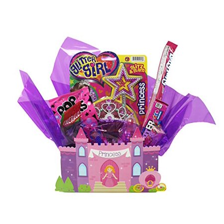 Funny Gift for the Princess in your Life. Arranged in a reusable Princess Castle Gift Box with Edible Candy, Tiara, Wand and More. Includes Matching Gift - Candy Coupons