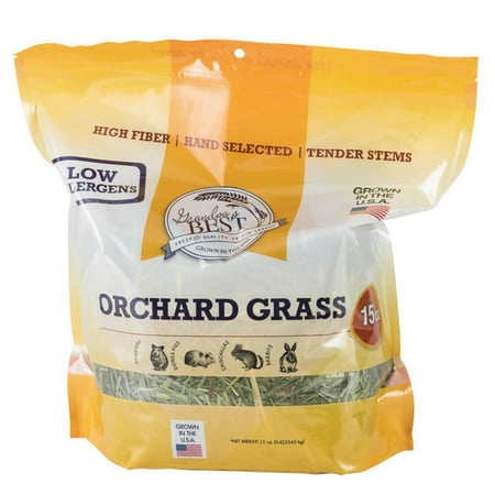 Grandpa'S Best Orchard Grass Bale, 15 Oz, This Soft-Textured Formulation Is High In Fiber And Low In Protein, Stimulating Digestion And Creating A Palatable, Nutritious.., By GrandpaS