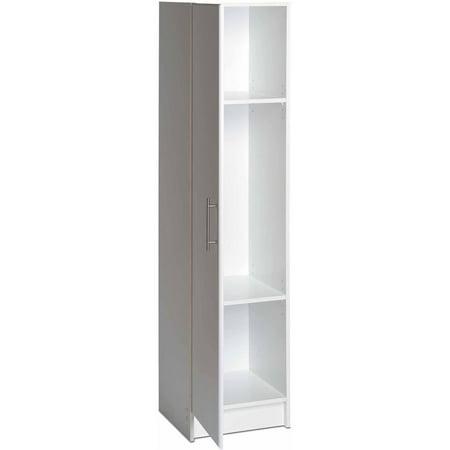 Elite 16u0022 Narrow Cabinet White - Prepac