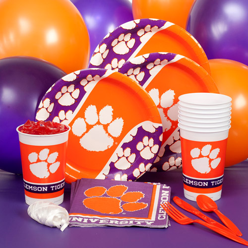 Clemson University Party Pack for 8