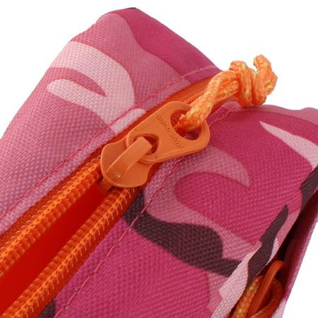 Wellhouse Authorized Unisex Outdoor Travel Hiking Portable Adjustable Shoulder Strap Chest Bag Camouflage Fuchsia - image 2 of 5