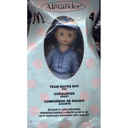 2005 TEAM MATES BOY #4 MADAME ALEXANDER DOLL MCDONALD'S HAPPY MEAL by Madame Alexander ()