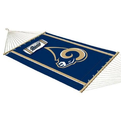 NFL St. Louis Rams Licensed Jumbo Hammock w/ Pillow