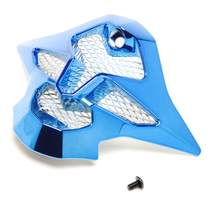 SHOEI Mouthpiece for VFX-W Off-Road Helmet Chrome Blue  #236161