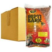 Zoo Med Premium Repti Bark Natural Reptile Bedding BULK - 72 Dry Quarts - 2.79 Cubic Feet - (3 x 24 Dry Quarts)
