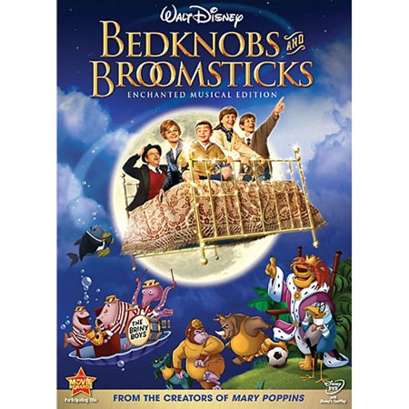 Bedknobs and Broomsticks (DVD) (Disney's Halloween Treat Vhs)