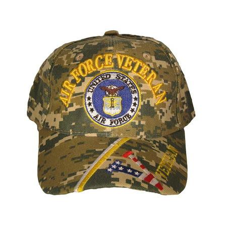 46ef197d633fa U.S. Air Force Veteran cap. Digital Camo - Walmart.com