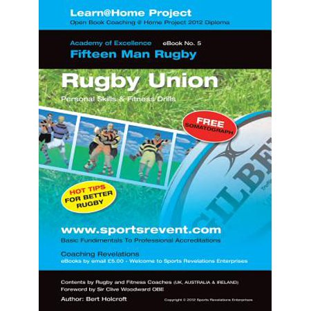 Rug By Union - Book 5: Learn @ Home Coaching Rugby Union Project - eBook
