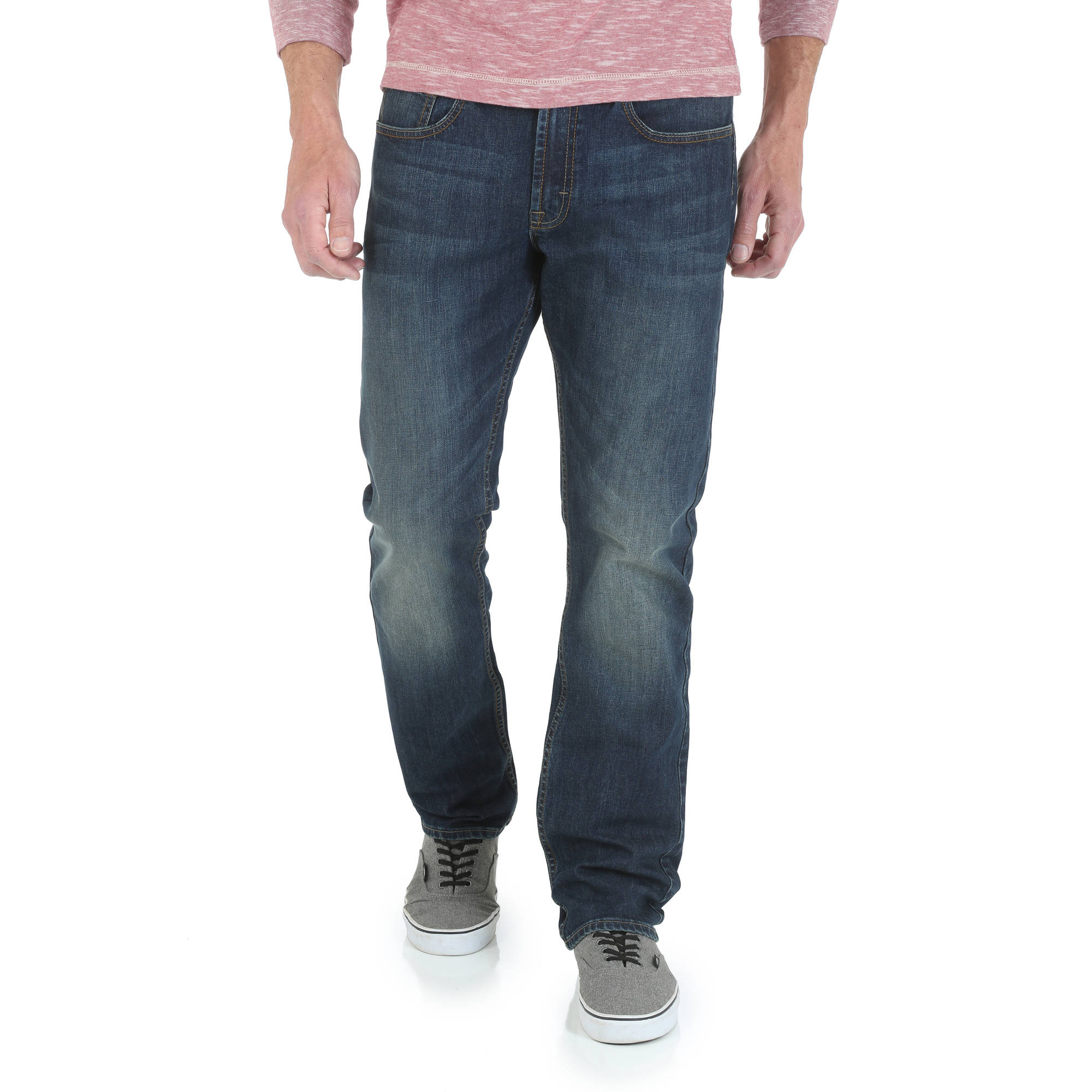 Slim straight jeans walmart
