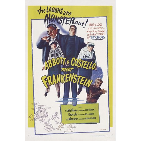 Bud Abbott Lou Costello Meet Frankenstein (1948) 11x17 Movie Poster