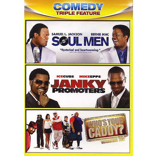 Comedy Triple Feature: Soul Men / Janky Promoters / Who's Your Caddy (Widescreen)