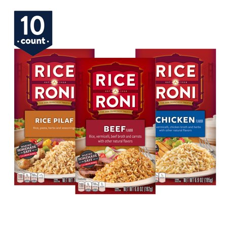 (Rice-a-Roni Dinner Classics, Variety Pack, 10 Count)