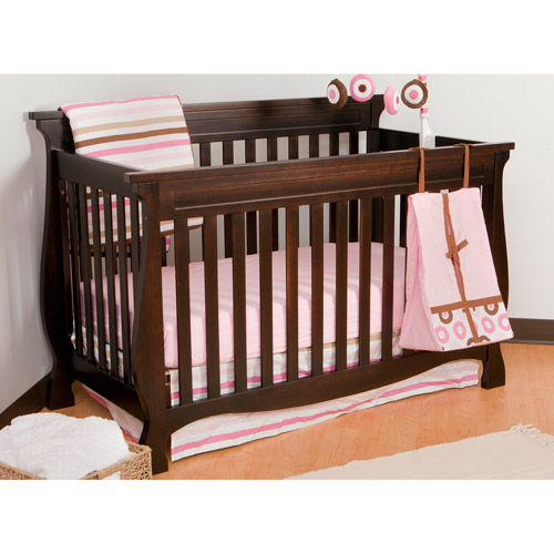 Storkcraft - Carrara Fixed-Side 4-in-1 Convertible Crib, Espresso