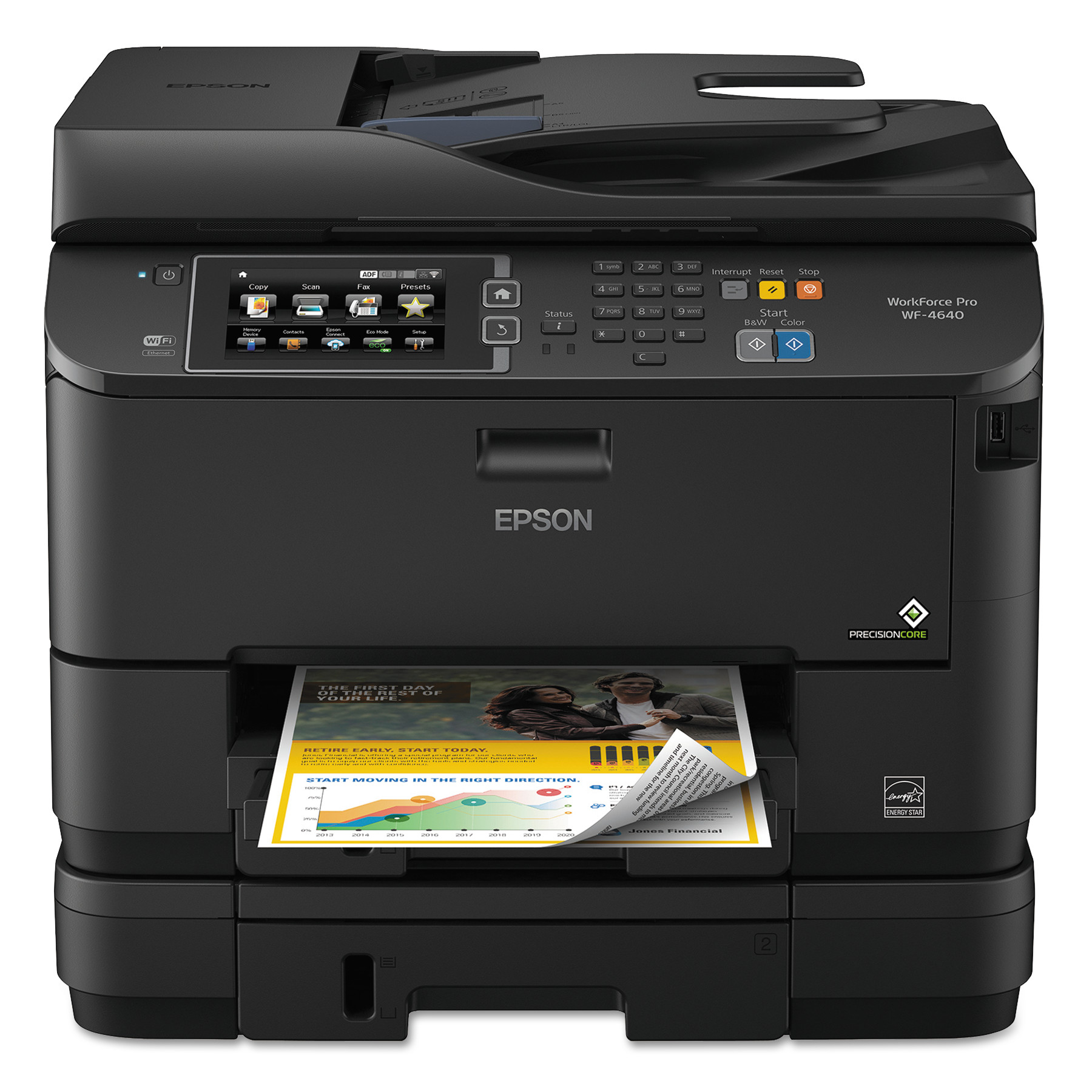 Epson WorkForce Pro WF-4640 All-in-One Printer Copier Scanner Fax Machine by EPSON AMERICA, INC.