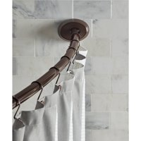 """Better Homes & Gardens 72"""" Dual-Installation Single-Curved Rod, 1 Each"""