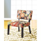 Printed Parsons Chair Set Of 2 Multi Color Suzani
