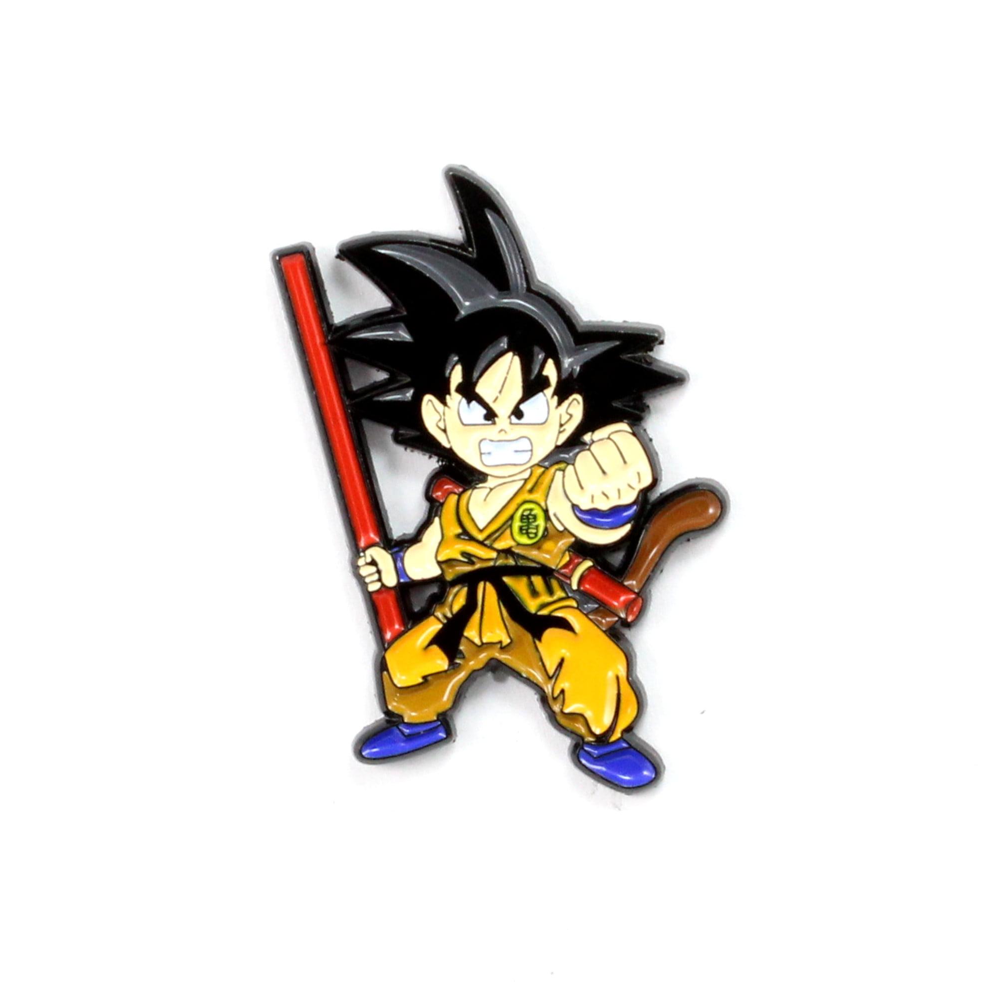 Dragon Ball Goku Power Pole Pin