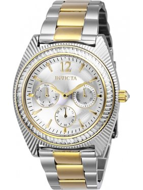 535ffe691000 Product Image Invicta Women s Angel Quartz Chrono 100m Two Tone Stainless Steel  Watch 26744