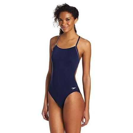 Speedo Women's Thin Strap Training Suit - Speedo Endurance+ SZ: 10/36 ()