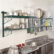 Focus Foodservice EZ Wall; Grid Mounting Wire Shelf CH - Pack of 4