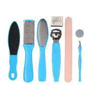 Pedicure Tools Foot Care File for Feet Heels Toe Cuticle Kit Professional File Pedicure Set Beauty Products Pusher Remover;Pedicure Tools Foot Care File for Feet Heels Toe Cuticle Kit