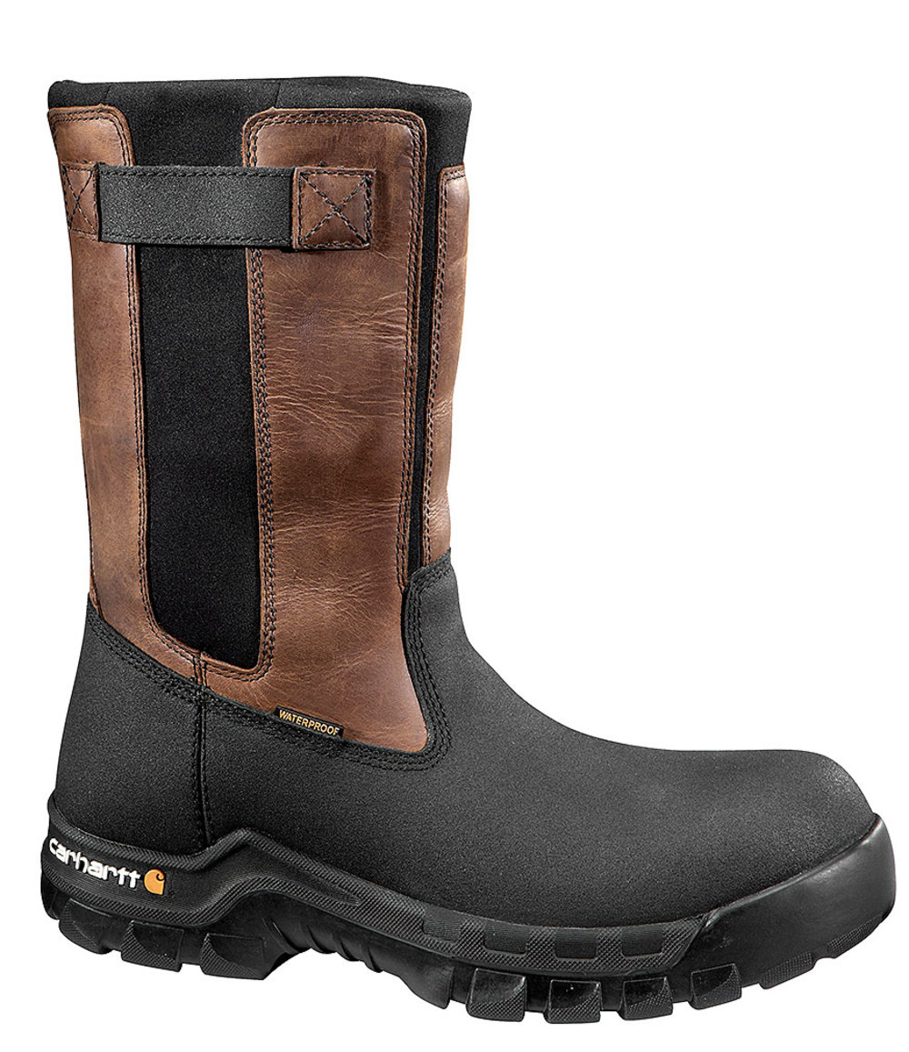 Carhartt 10in Rugged Flex Waterproof Pull-On Wellington Composite Toe by Carhartt