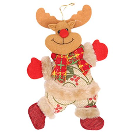 AkoaDa Merry Christmas Ornaments Christmas Gift Santa Claus Snowman Toy Tree Doll Hanging Home Decor ()