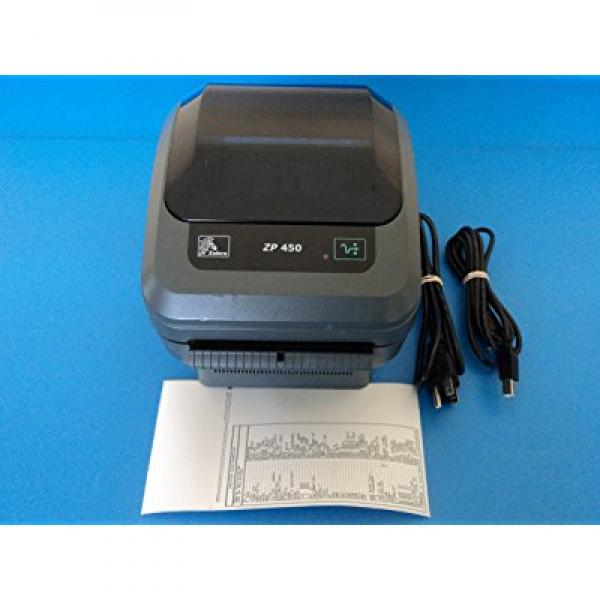 Zebra ZP 450 USB Thermal Label Printer with Cables ZP450-...