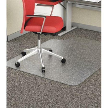 Alera MAT4553CFPL 45 x 53 in. Studded Chair Mat for Flat Pile Carpet, Clear - image 1 of 1