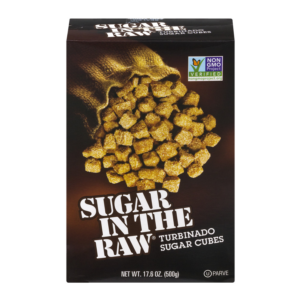 Sugar In The Raw Turbinado Sugar Cubes, 17.6 OZ