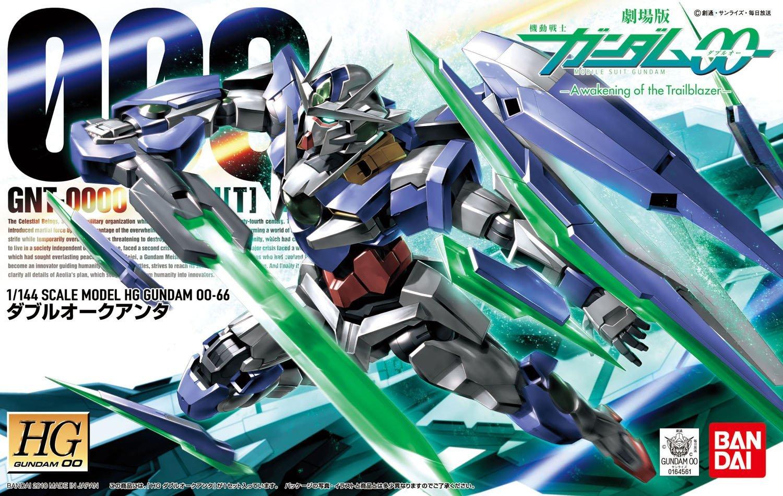 Bandai Hobby Gundam 00 #66 00 Quanta HG 1 144 Model Kit by Bandai Hobby