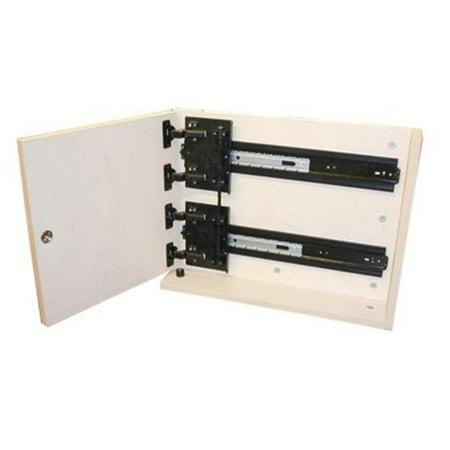(Knape & Vogt Kv8092 P24 Eb 24 In. Extra Heavy Duty Rack And Pinion Pivot Door Slides)