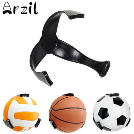 Meigar Ball Claw Space Saver Basketball Soccer Ball Hand Holder Wall Mount Display Case Organizer ()