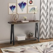 Harper&Bright Designs Accent Console Sofa Table for Entryway/Hallway/Living  Room with Storage Shelf