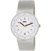 Men's BN0082WHSLMHG White Stainless-Steel Quartz Watch