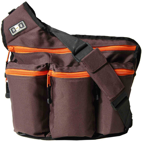 Diaper Dude Llc Diaper Dude Diaper Bag, Brown And Orange